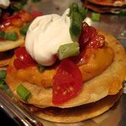 Mini Mexican Pizza