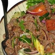 Spicy Thai Beef Salad (Laab Neua)