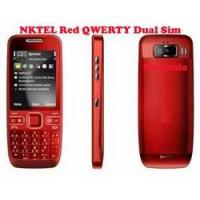 Nktel Red QWERTY Dual Sim GSM