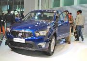 First SUV based on new Mahindra-SsangYong platform to launch in 2014-2015